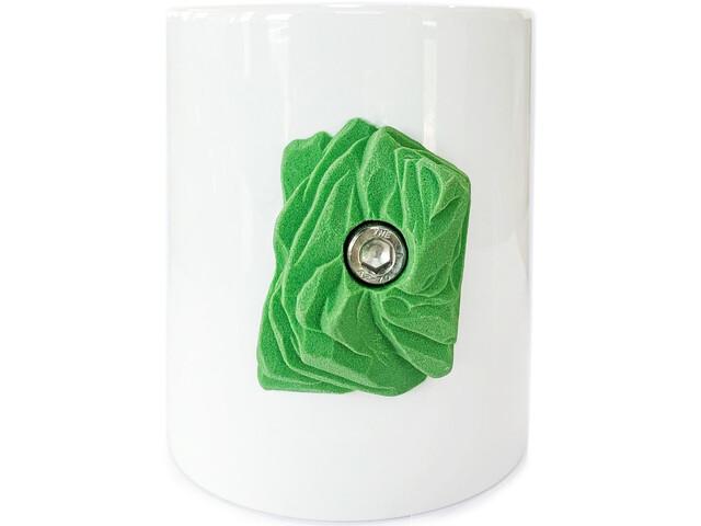YY VERTICAL Taza Escalada, blanco/verde